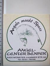 Aufkleber Sticker Angel Center Benfer - Münster - Fisch - Angeln - Köder (M1425)