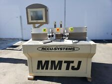 Accu-Systems MMTJ-3 Miter Door Machine;  Miter - Mortise and Tenon Machine
