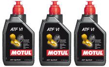 Motul ATF VI Olio Trasmissione Cambio Automatico Fluido 100% Sintetico 3 Litri