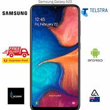 TELSTRA Samsung Galaxy A20 2019 (4GX, BlueTick,32GB/3GB) BLACK [AU STOCK] SEALED