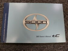 2007 Scion tC Coupe Owner Owner's Manual User Guide Book 2.4L