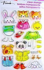 Animals Spring Short Stack Clear Acrylic Stamp Set Stampendous Stamps SSC1240