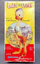 """1950's empty box REMPEL """"COOKIE"""" THE OSTRICH rubber squeak squeeze toy BOX ONLY"""
