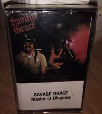 SAVAGE GRACE Master Of Disguise CASSETTE TAPE, UNOPENED MINT in ORIG. Shrink