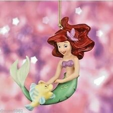 Lenox Disney Princess Ariel's Best Friend Little Mermaid Ornament Nib!