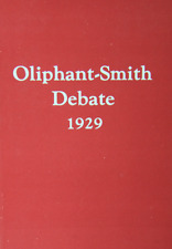 W. L. Oliphant - Charles Smith Debate ~ 1929 ~ Church of Christ & Atheist