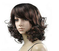 New Fashion Women Sexy Long Curly Synthetic Hair Full Wigs Cosplay Party Wig