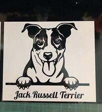Jack Russell Terrier Black Faux Carbon Fibre Manicure Set Nail Kit Christmas