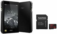 FiiO X5-III (3rd Gen) High Res Player (Black) & SanDisk Ultra 128GB microSDXC