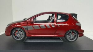 NOREV 1/18 PEUGEOT 206 STREET RACER GTI TUNERS NEUVE