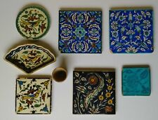1930-40 Armenian Ceramic Tiles Ohannessian Jerusalem Pottery Palestine Iznik Art