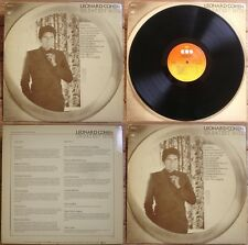 LEONARD COHEN - LP - GREATEST HITS - Suzanne, The Partisan…CBS 69161 BIEM/STEMRA