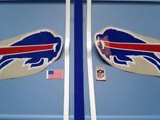 Buffalo Bills TB 90s football helmet decals set