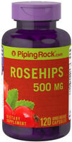 ROSEHIPS COLD FLU VIRUS IMMUNE  SYSTEM HEALTH 500mg 120 Capsules Piping Rock