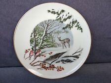 Vintage Lenox Special Decorative Plate~Winter Scene~Signed M. Jensen