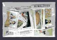 Maldives 50 timbres différents