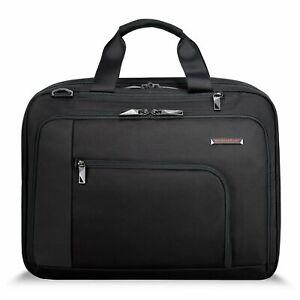 New Authentic BRIGGS & RILEY VERB ADAPT EXPENDABLE BRIEF BRIEFCASE Men's Bag