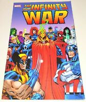 Marvel The Infinity War Graphic Novel Comic Book