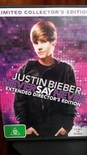 Justin Bieber Never Say Never Limited Collector's Edition DVD MOVIE - FREE POST*
