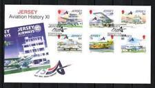 Jersey 2012 histoire de l'aviation FDC enveloppe 1er jour neuf ** 1er choix