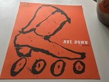 FIRST EISENBERGS SKATEPARK HOE DOWN SHOWDOWN PRO ROLLERBLADER POSTER