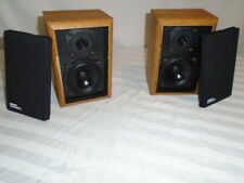 DESIGN ACOUSTICS PS-3, Wood Satellite Speakers, USA Made