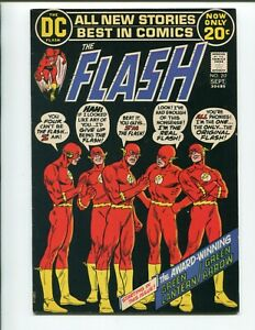 Flash #217 - 2nd Series Team Up of Green Lantern & Green Arrow