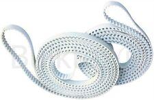 Bulktex® passend für Zippo Weiße Zahnriemen Typ 1250 1506 1511 Extra Stahl Stark