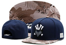 Men's Women CAYLER SONS Snapback Adjustable Baseball Cap Hip Hop street Blue Hat