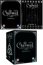 CHARMED 1-8 (1998-2006): COMPLETE Power of 3 TV Seasons Series NEW UK DVD not US