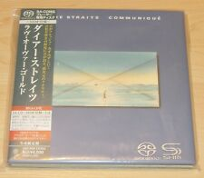 DIRE STRAITS Communique UIGY-9505 Japan SHM SACD Mini-LP Knopfler guitar