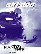Ski-Doo service shop manual 1999 MINI Z