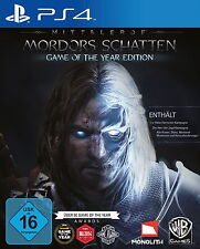 Mittelerde: Mordors Schatten -- Game of the Year Edition (Sony PlayStation 4, 2…