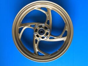 front wheel rim for honda cb 1000 r without abs from year 2011 to 2015 gold new