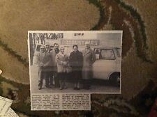 B2-2 ephemera 1963  picture broadstairs publicity van  v white mrs r trull