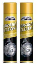 2 x Carpride Brake Cleaner Spray Can 250ml Effective To Remove Break Dust & Dirt