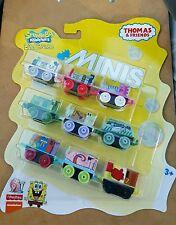 2016 THOMAS & FRIENDS Minis Train Engine SPONGEBOB  9 Pack sealed NIB
