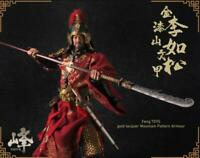"""Feng TOYS 1/6 Ming Dynasty Li Rusong General Armour 12""""Male Action Figure"""