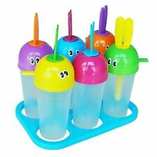 5X Q4 6 X Frozen Ice Cream Pop Mold Popsicle Maker Lolly Mould Tray