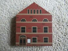 1985 Cat's Meow Village Opera House Series Iii Retired d