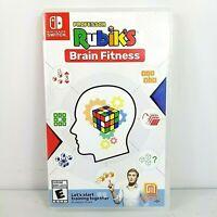 Professor Rubik's Brain Fitness (Nintendo Switch) Game BRAND NEW Nintendo Switch