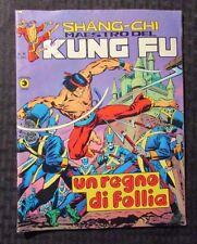 1976 SHANG-CHI Maestro Del KUNG FU #18 FN+ 6.5 Italian Comic Magazine