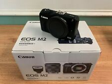 Canon EOS M2 18.0MP Digital Camera - Black (Body Only) - NEW