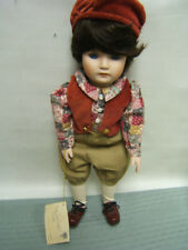 "Goebel Musical Porcelain Doll ""Carter"" by Betty Ball Le Coa Vgc"