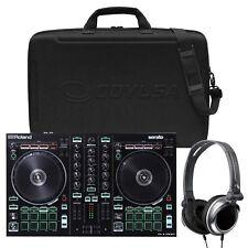Roland DJ-202 2 Channel Pro Serato DJ Controller + Carrying Bag + Headphones
