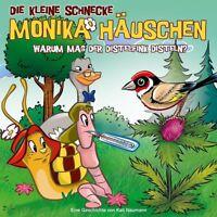 DIE KLEINE SCHNECKE MONIKA HÄUSCHEN-51:WARUM MAG DER DISTELFINK DISTELN?CD NEU