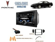 1993-2002 PONTIAC FIREBIRD TRANS AM DOUBLE DIN STEREO KIT, BLUETOOTH USB CD AUX