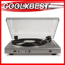 NEW CROSLEY T300 COMPONENT TURNTABLE BLUETOOTH WIRELESS USB ENCODE HEADPHONE OUT