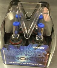 Monster Only Dark BLUE Halogen 9005 Xenon High Beam Headlight Bulbs