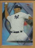 Luis Severino RC New York Yankees 2016 Topps Finest Firsts Rookie Card # FF-LS